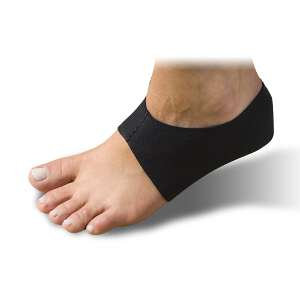 Sol Step Heel Pain Treatment with SEALED ICE Extra Large, Black