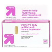 Up & Up Women's Daily Multivitamin 100-pk.