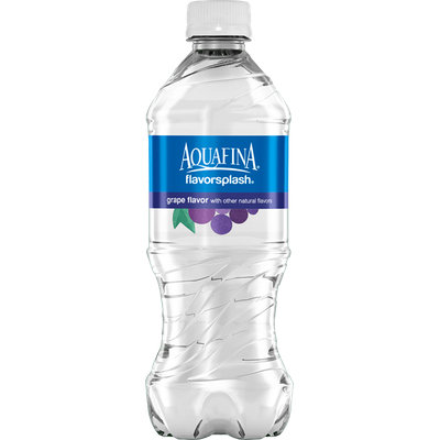 Aquafina FlavorSplash Grape Water Beverage