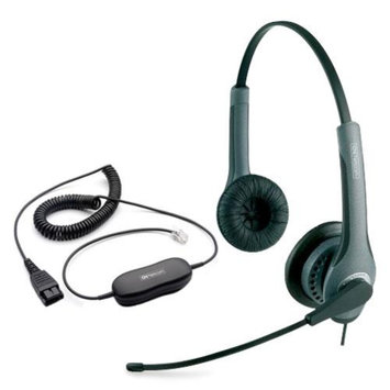 Jabra GN2110 ST Mono With GN1200 Cable Duo IP SoundTube Headset