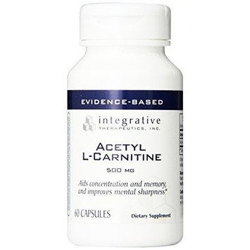 Integrative Therapeutic's Integrative Therapeutics - Acetyl-L-Carnitine - 60 caps (Premium Packaging)