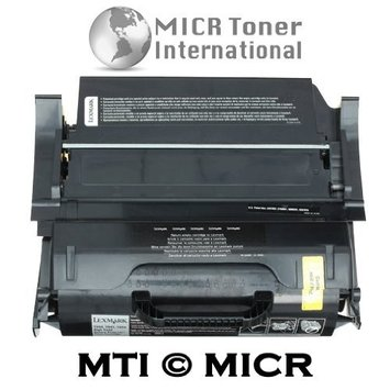 MICR Toner International MTI MICR Lexmark T650H11A MICR Toner Cartridge (Yield: 25,000) for Printing Checks compatible with Lexmark LaserJet Printers: T650, T650N, T650DN, T650DTN, T652, T652N, T652DN, T652DTN, T654, T654N, T654DN, T654DTN, T656, T656DNE, TS656DNE