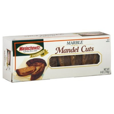 Manischewitz Mandel Cuts, Marble, Passover, 6-Ounce (Pack of 3)