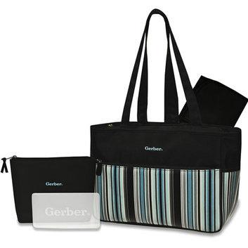 Gerber 4-in-1 Striped Diaper Bag