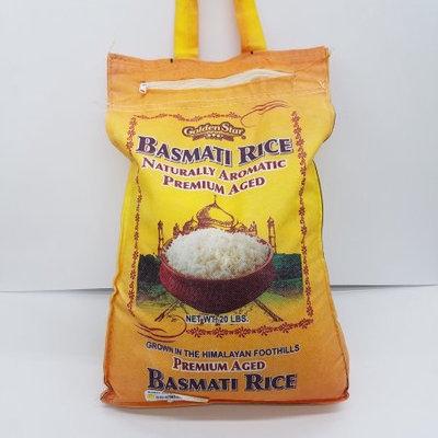 Golden Star Basmati Rice 20 Lb.
