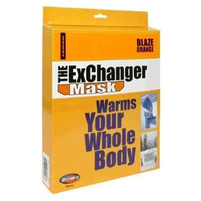 Polarwrap The Exchanger Mask, Blaze/Hunter Orange, Large, 1 Mask