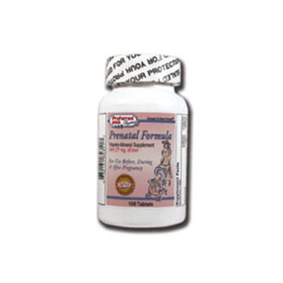 Prenatal formula tablets by Preffered plus - 100 Ea