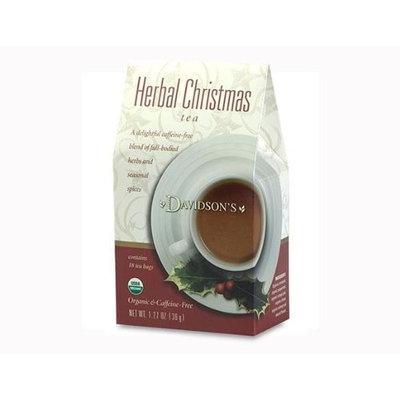 Davidson's Tea Davidson Organic Tea 2085 Holiday Trad Herbal Christmas Tea 18 Ct.