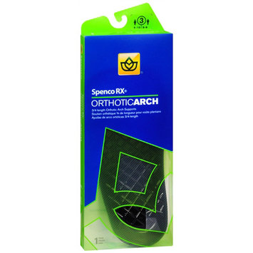 Spenco Arch Supports Spenco 3/4 Orthotic Arch Support