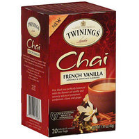 Twinings Of London Chai French Vanilla Tea Bags, 20ct (Pack of 6)