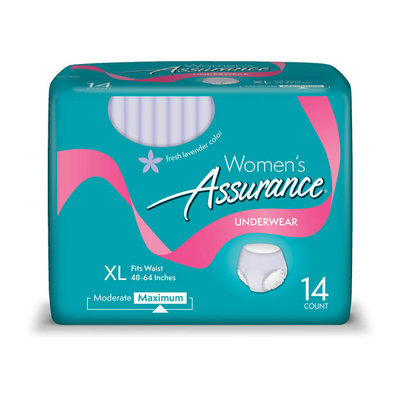Assurance For Women Maximum Absorbency X-Large Underwear