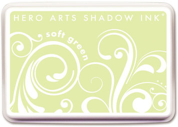 Crown Marking Equipment Co. Hero Arts Shadow Inks-Soft Green