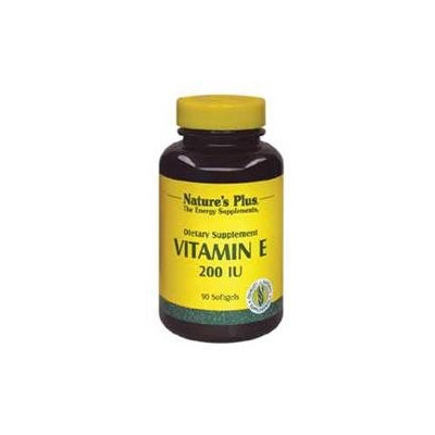 Nature's Plus - Vitamin E, 200 IU, 90 softgels [Misc.]