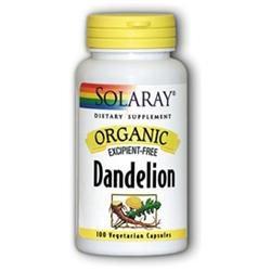 Solaray Organic Dandelion - 100 Capsules - Other Herbs