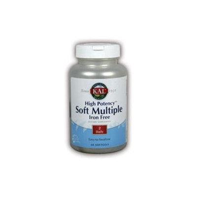 High Potency Soft Multiple Iron Free Kal 60 Softgel