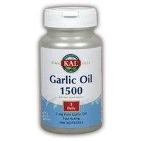 Kal Garlic Oil 1500 - 100 Softgels