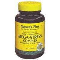 Nature's Plus Mega Stress Complex - 30 Tablets