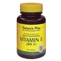 Nature's Plus Vitamin E Mixed 200 IU - 90 Softgels - Vitamin E Complex