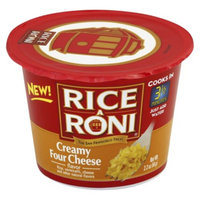 Rice A Roni Creamy Four Cheese Rice Cup 2.25oz