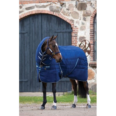 Rambo By Horseware Rambo Stable Varilayer with Removable Hood