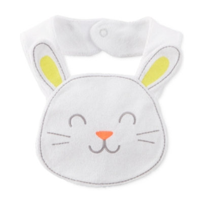 Carter's Carters Easter Terry Teething Bib Color
