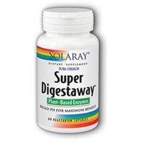 Solaray Ultra-Strength Super Digestaway Plant Based Enzymes