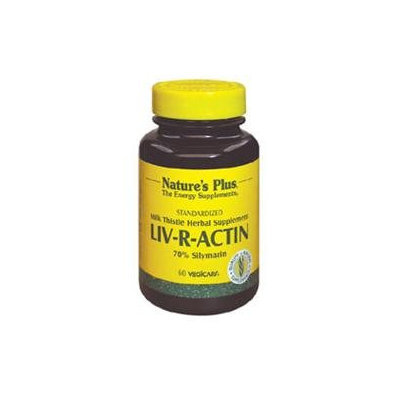 Nature's Plus Liv-R-Actin - 60 Veggie Caps - Other Herbs