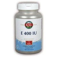 KAL Vitamin E 400 IU - 180 Softgels - Vitamin E D'Alpha