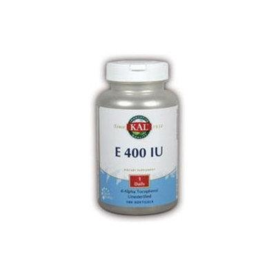 KAL Vitamin E 400 IU - 180 Softgels - Vitamin E D'Alpha