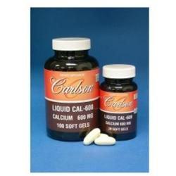 Carlson Laboratories Liquid Cal 600 MG - 250 Softgels - Calcium Combinations