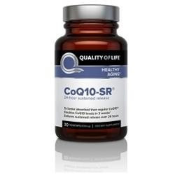Quality of Life Labs CoQ10-SR, Veggie Caps, 30 ea