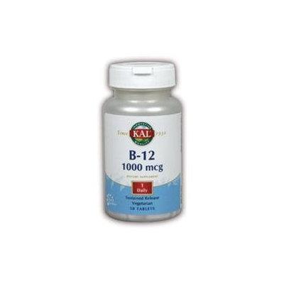 Kal B-12 - 1000 mcg - 50 Tablets