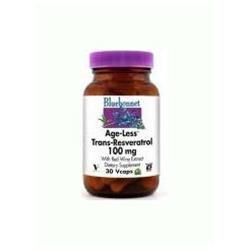 Age-Less Trans-Resveratrol, 100Mg, 30VC by Bluebonnet Nutrition