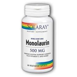 Solaray Monolaurin - 500 mg - 60 Vegetarian Capsules