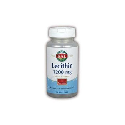 KAL Lecithin 1200 MG - 50 Softgels - Other Supplements