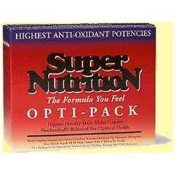 Super Nutrition Opti-Energy Pack (Iron Free)