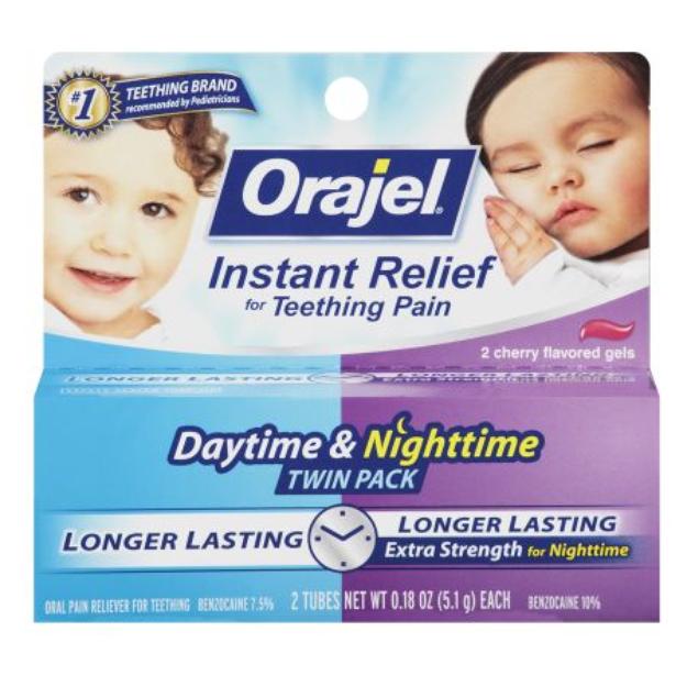 Baby Orajel Regular Formula & Nighttime Formula