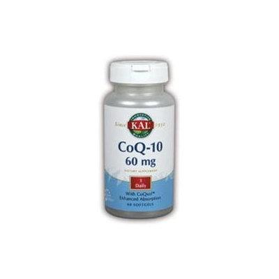 Kal CoQ 10 - 60 mg - 60 Softgels