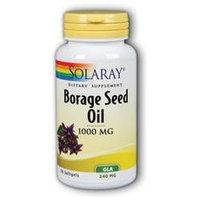 Solaray Borage Seed Oil GLA - 240 mg - 50 Softgels