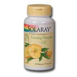 Solaray Evening Primrose Oil - 500 mg - 180 Softgels