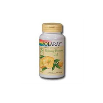 Solaray Evening Primrose Oil - 500 mg - 180 Softgels