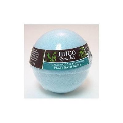 Hugo Naturals Fizzy Bath Bomb Guaiacwood and Bergamot - 6 oz