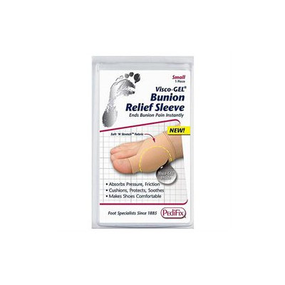 Pedifix Visco-gel Bunion Relief Sleeve, Small