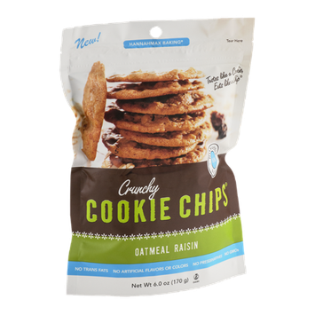 HannahMax Baking Cookie Chips Oatmeal Raisin