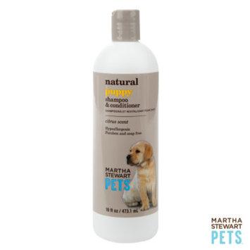 Martha Stewart PetsA Natural Citrus Scented Puppy Shampoo & Conditioner