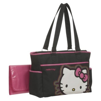 Hello Kitty Diaper Bag Tote - Black