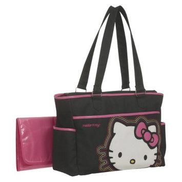 Hello Kitty Diaper Bag Tote - Black