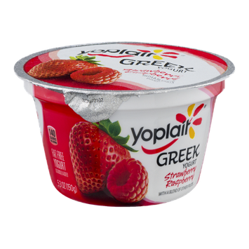Yoplait® Fat Free Greek Yogurt Strawberry Raspberry