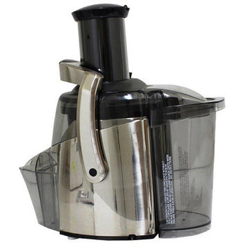 Juiceman 2-Speed Electric Juicer, Stainless Steel, Refurbished