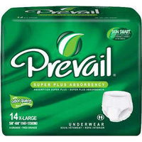 First Quality Products Inc. Prevail Underwear Unisex Super Plus XL